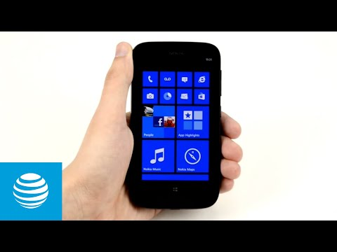Browsing the web on the Nokia Lumia: AT&T Wireless Support