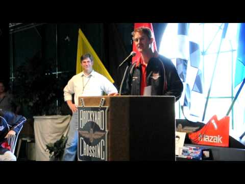 Ryan Hunter-Reay's Indy 500 Last Row Party Speech Part 1