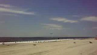 Failed rescue attempt  - Helicopter Drop Diver at Rockaway Beach
