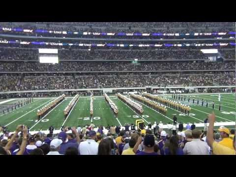 LSU Pregame at Cowboys Stadium - The Golden Band from Tigerland - 9/3/2011 (NEW)