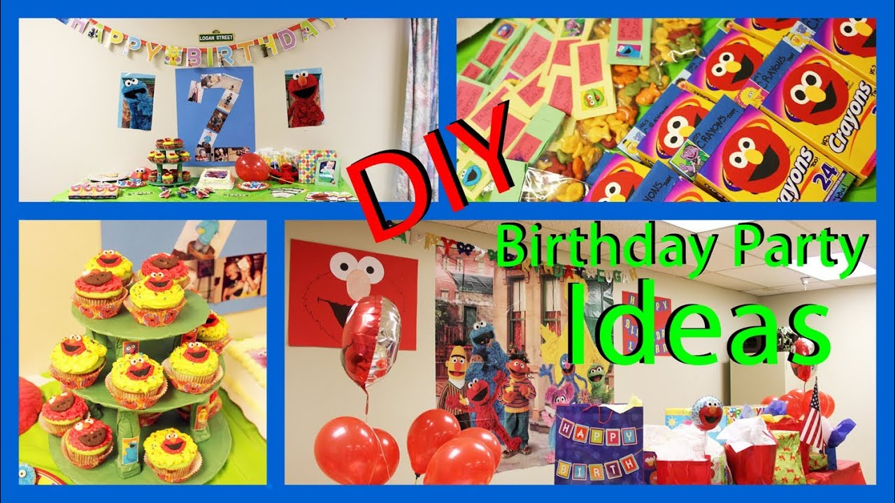 Sesame street party ideas photos of my sons 2nd birthday for 2nd birthday party decoration