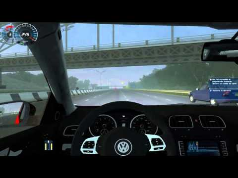 City Car Driving Simulator 1.2.5 VW GOLF R10 Crash n Burn