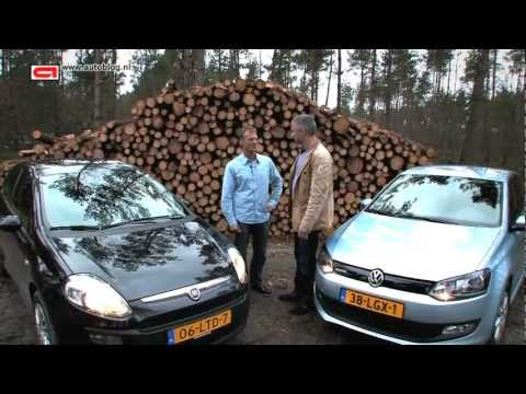 Volkswagen Polo Bluemotion vs Fiat Punto Evo
