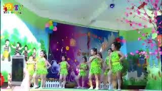 Nhảy Sampa Thiếu Nhi Cực Đẹp   Trường Mầm Non 10 3