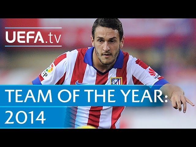 Koke: 2014 Team of the Year nominee