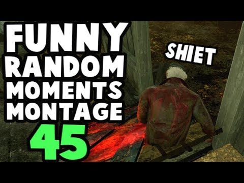 Dead by Daylight funny random moments montage 45