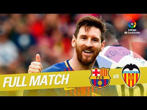 Full Match FC Barcelona vs Valencia CF LaLiga 2017/2018 thumbnail