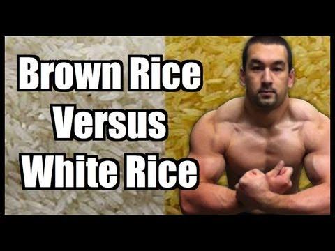 Brown Rice Vs. White Rice?