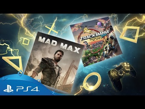 PlayStation Plus - April 2018 | Mad Max + Trackmania Turbo | PS Plus Monthly Games