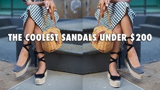 The Best Sandals of 2017 + How To Style Them | Topshop, Madewell, Soludos