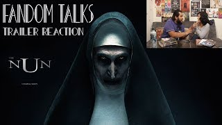 Fandom Talks: THE NUN - Official Teaser Trailer [HD] Release Reaction