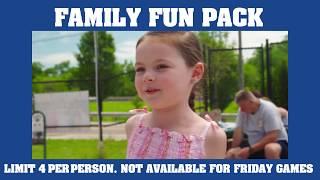 Family Fun Pack at Jimmy John's Field