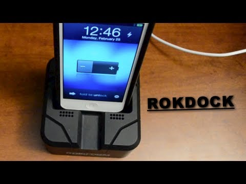 The Best iPhone 5 Dock - The ROKDOCK by Rokform - Unboxing. Assembly