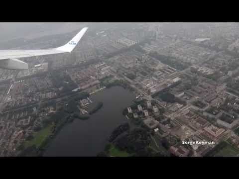 Взлет из аэропорта Схипхол Амстердам - Takeoff Schiphol airport Amsterdam