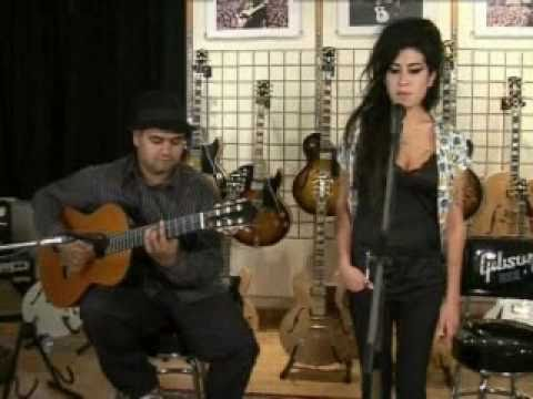 Amy Winehouse - Back To Black (Live Acoustic) Music Videos