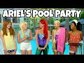 download mp3 dan video DISNEY PRINCESS POOL PARTY. What Goes Wrong when Ariel Hosts Tiana, Rapunzel, Belle and Elsa?
