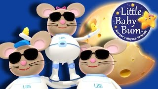 Three Blind Mice | Nursery Rhymes | Original Version By LittleBabyBum!