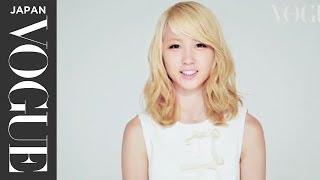 Dream と E-girlsのヴォーカルとパフォーマーを務めるAmiがついにソロデビュー。_Vogue Japan