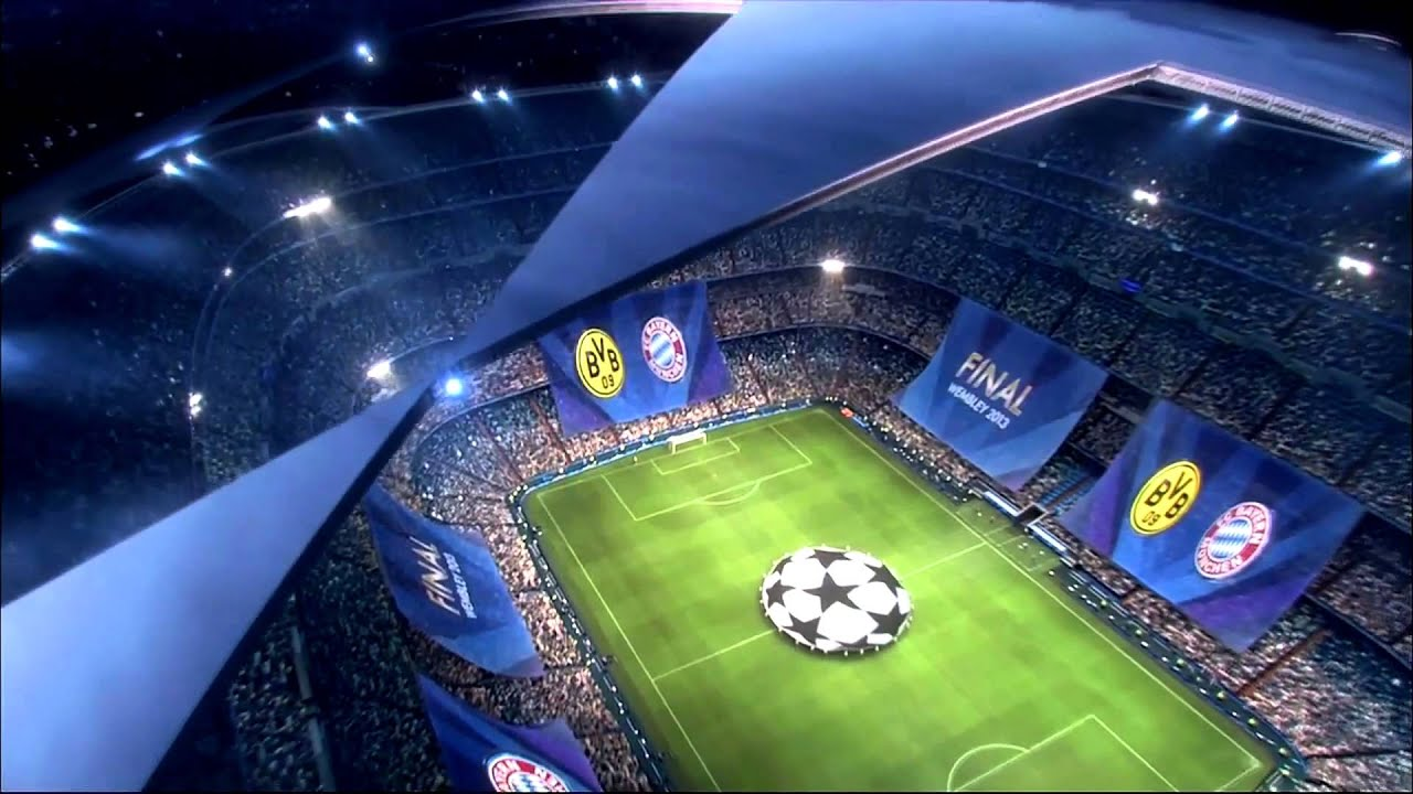 UEFA Champions League Final 2013 Intro FULL HD Remastered ...