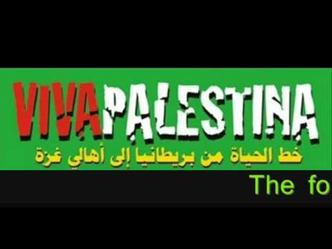 GAZA WE ARE ALMOST THERE Viva Palestina Convoy Update Video