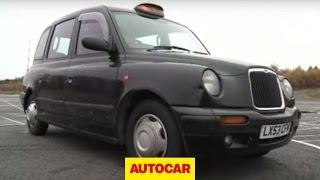 Will it drift? Black taxi cab - autocar.co.uk