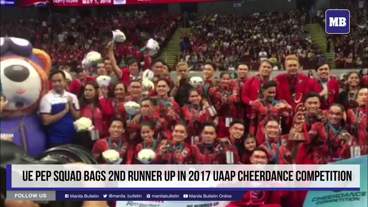 UE Pep Squad bags 2nd runner-up in #UAAPCDC2017