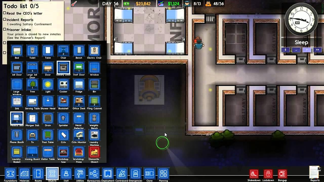 Prison architect gameplay ita sedia elettrica e for Sedia elettrica youtube
