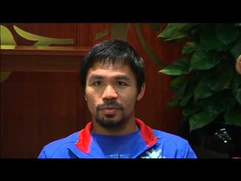 Filipino Boxer Pacquiao Dedicates Next Fight To Victims Of Typhoon Haiyan