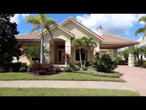 Canal Pool Home for Sale in Harbour Walk Bradenton, FL M5841024