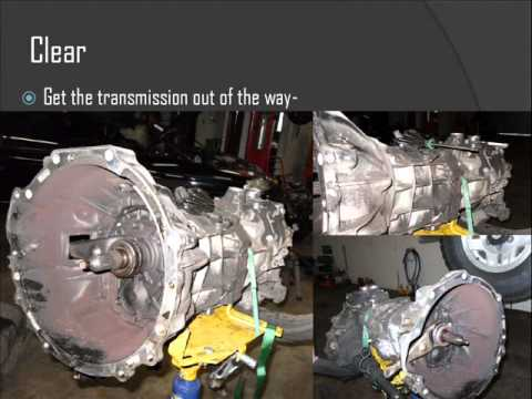 toyota pickup 1995 clutch replacement