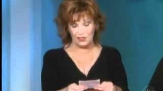 Barbara Walters Tells Joy Behar