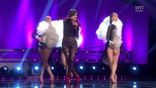 Karl för sin kostym ᴴᴰ - Lena Philipsson, Danny Saucedo, Gina Dirawi [Melodifestivalen 2013]