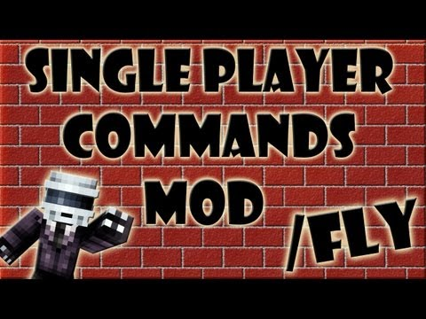 Como Instalar Single Player Commands MOD 1.6.2 [Tutorial En Español]