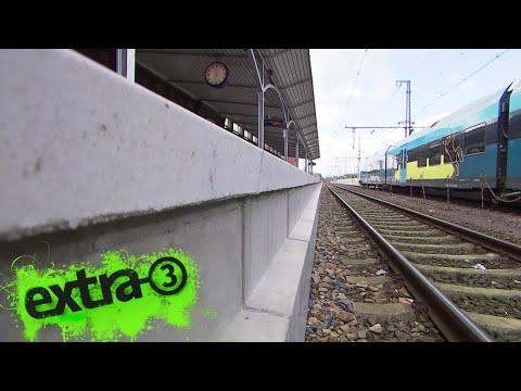 Realer Irrsinn: Zu hoher Bahnsteig in Bad Bentheim | extra 3 | NDR