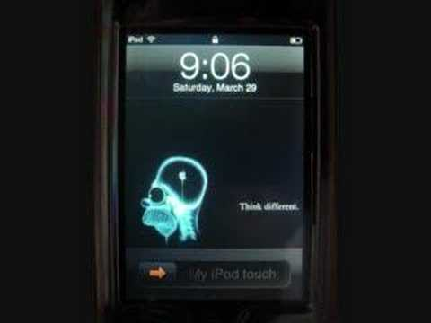 iPodtouch/iPhone- Funny Wallpapers! Video