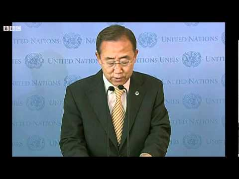Libya conflict - UN chief Ban Ki-moon - Time for Libyans to unite