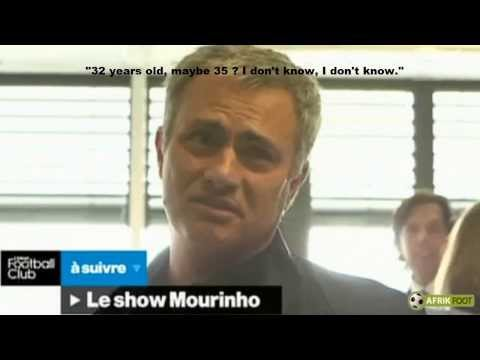 José Mourinho and the age of Samuel Eto'o | Canal Football Club