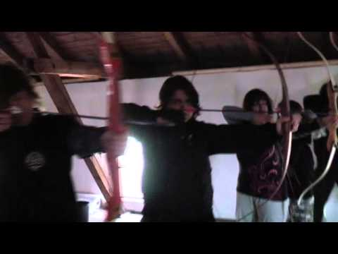 A.R.G.O. PROFILM: Archery - Swordsmen team, training with Petr Abbe Hros