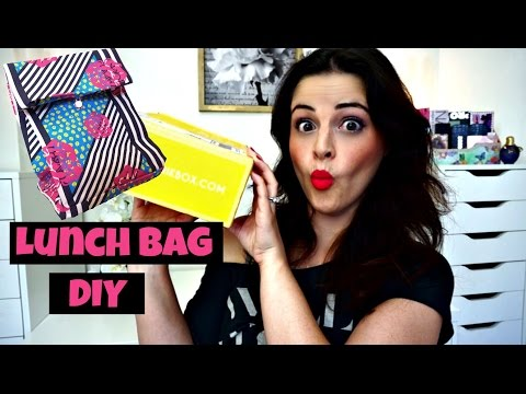 DIY Lunch Bag! Crafting Subscription Review - CMYFabriK Box - Jen Luv's Reviews