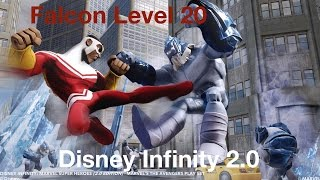 Disney infinity 2.0 Falcon Level 20 Skill Overview
