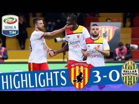 Benevento - Verona 3-0 - Highlights - Giornata 27 - Serie A TIM 2017/18