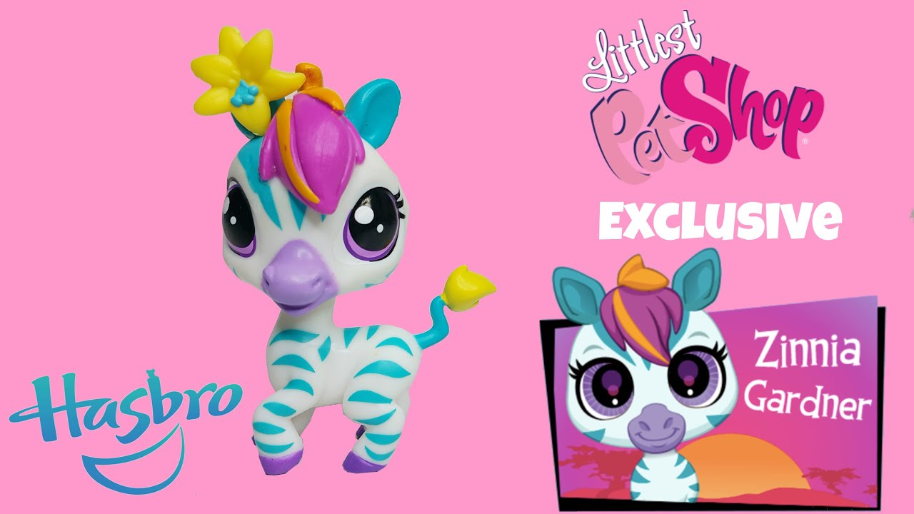 Zebra Pet Littlest Pet Shop Zebra