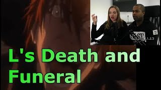L's Death and Funeral (English dub) (REACTION ?)