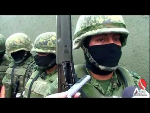 Confíen en nosotros: Ejército Mexicano