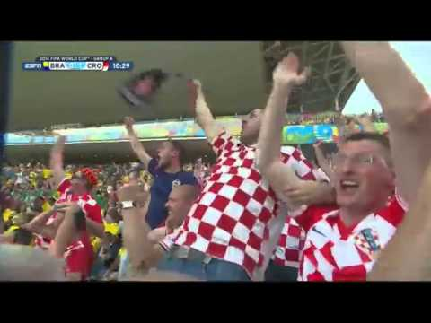 Marcelo Own Goal | Brazil vs Croatia 0-1