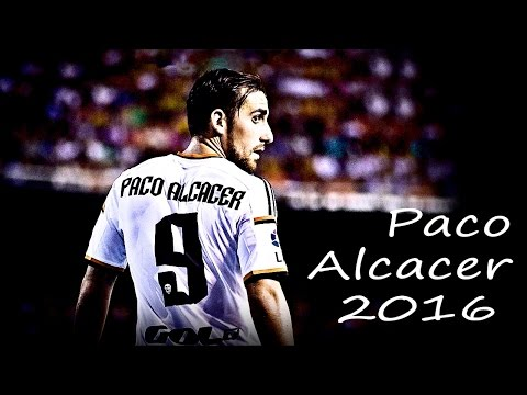 Paco Alcacer 2016