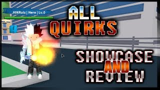 MHA: Plus Ultra - ALL QUIRKS SHOWCASE/REVIEW! [V.006]
