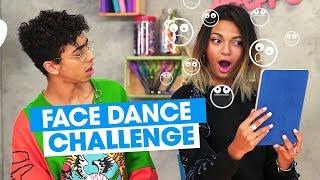 FACE DANCE CHALLENGE | Tatiana et Bilal Hassani