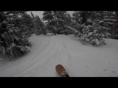 Powder at Keystone - Wolf Den to The Trap   (2-8-2017)