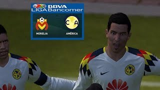 PES 2017 | Morelia vs América | Jornada 7 Liga Mx | Gameplay PC